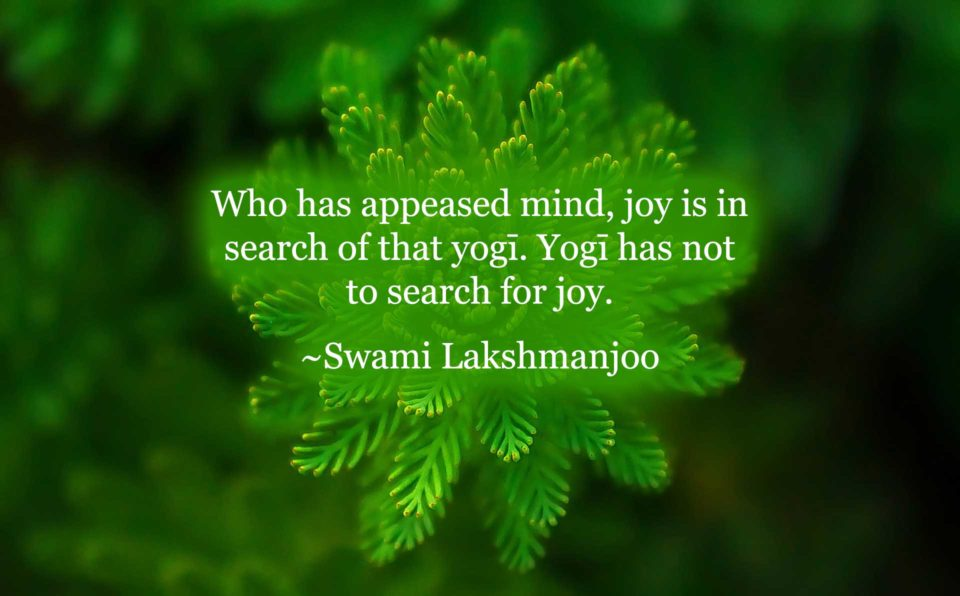 Stages of mind in Kashmir Shaivism by Swami Lakshmanjoo