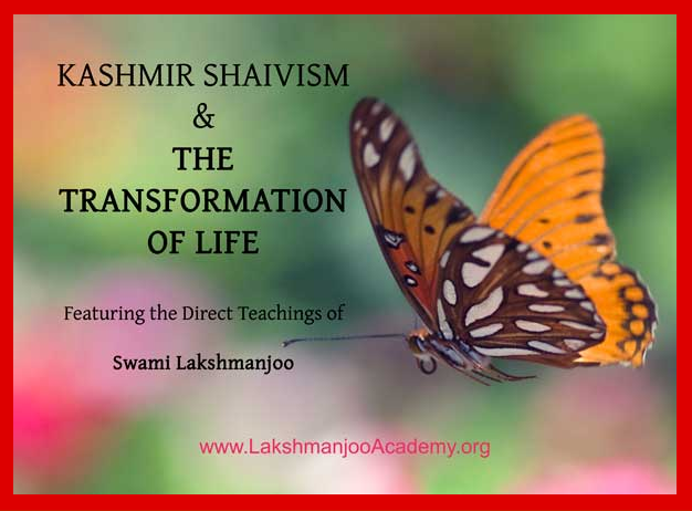 Kashmir Shaivism and the transformation of life online class